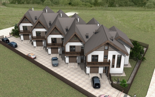 Дешевые деревянные дома для дач 6х8 из бруса, проекты